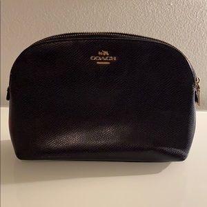 Coach- cosmetic pouch (navy blue)